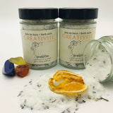 Creativity bath salts