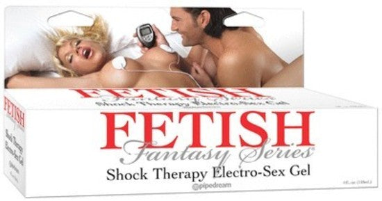 Fetish Fantasy Shock Therapy Electro Sex Gel 4 oz