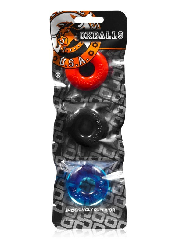 Ringer 3-Pack Of Do-Nut-1 Small Multicolor