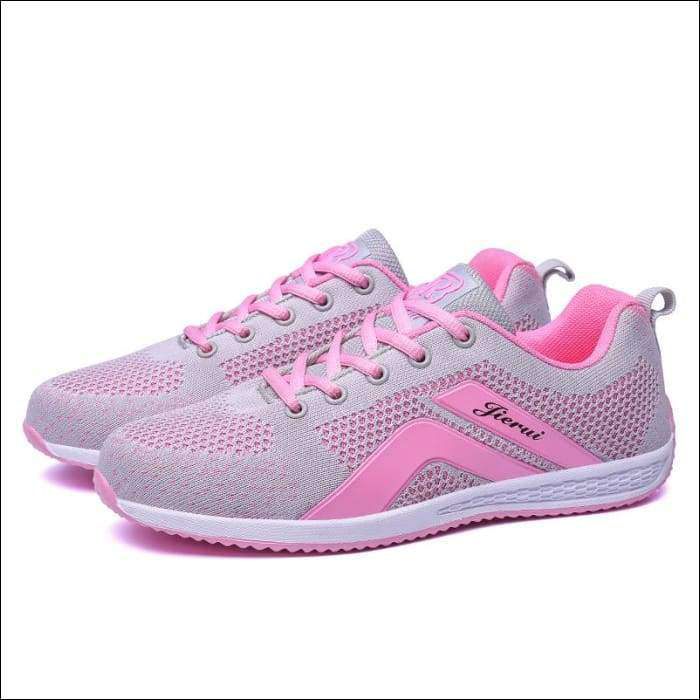 2a07cce523cd Outdoor Sneakers Woman Summer Running Shoes Breathable Sport Shoes Mesh  Trainers Spring Jogging – Tiaga Mall