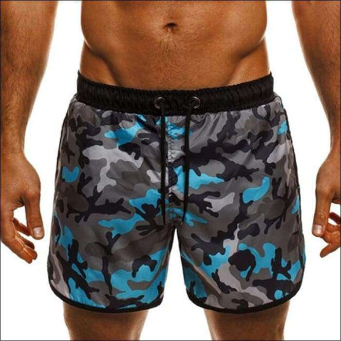 11849d8385 Summer Beach Board Shorts Men Camouflage Floral Print Sporting