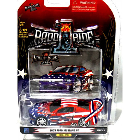 1BADDRIDE 2005 Ford Mustang GT - For Our Troops : 1/64 Scale - QURATOR™ Market