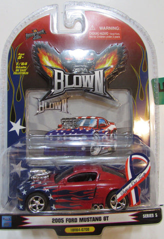 1BADDRIDE Blown 2005 Ford Mustang GT - For Our Troops : 1/64 Scale - QURATOR™ Market
