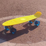 "MIDLANE Impi 22"" Complete Skateboard - Yellow : Assembled - QURATOR™ Market"