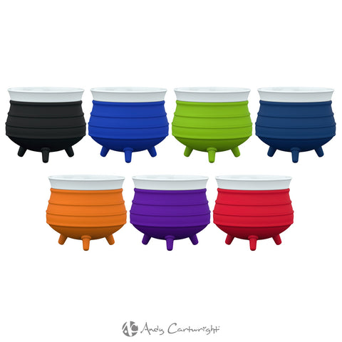 ANDY CARTWRIGHT Poykie Ceramic Pot With Silicone Cover - QURATOR™ Market