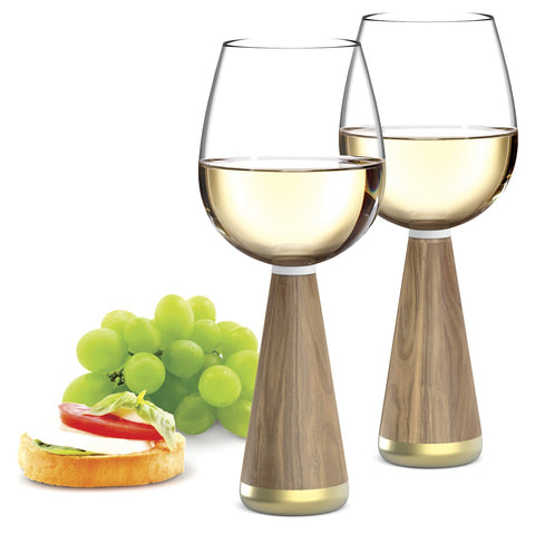 ANDY CARTWRIGHT Afrique Wine Glasses (Set of 2) - QURATOR™ Market
