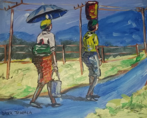 DAXX TFWALA ART - Rural African Travel on Foot - QURATOR™ Market