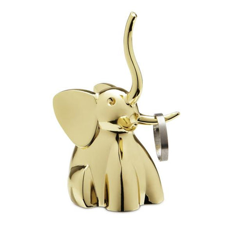 UMBRA Ring Holder - Elephant : Brass
