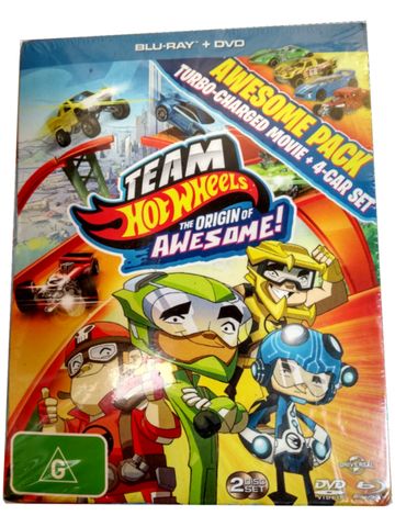 HOTWHEELS Origin of Awesome - Box Front