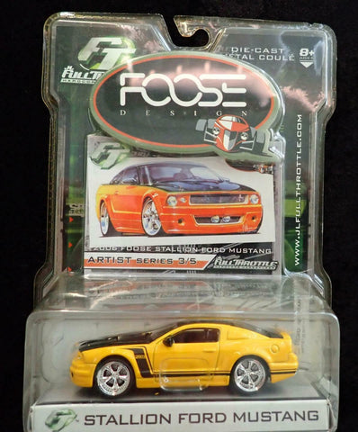 FULLTHROTTLE Foose Design 2006  Foose Stallion Ford Mustang : 1/50 Scale - QURATOR™ Market