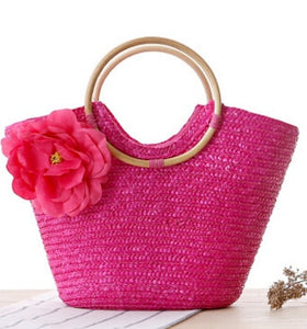 Bohemian Women Straw Summer Handbag