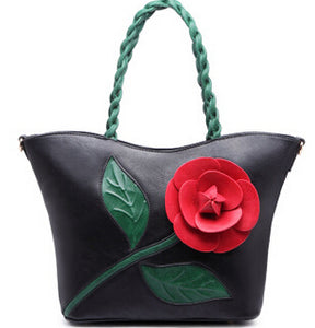Flower Retro Ladies High Quality Handbag