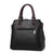 Leather Lady Handbag-Black