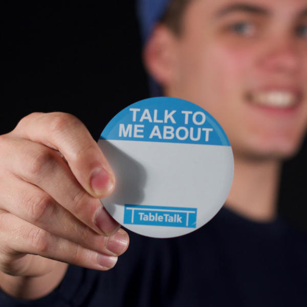 'TALK TO ME ABOUT' MAGNET