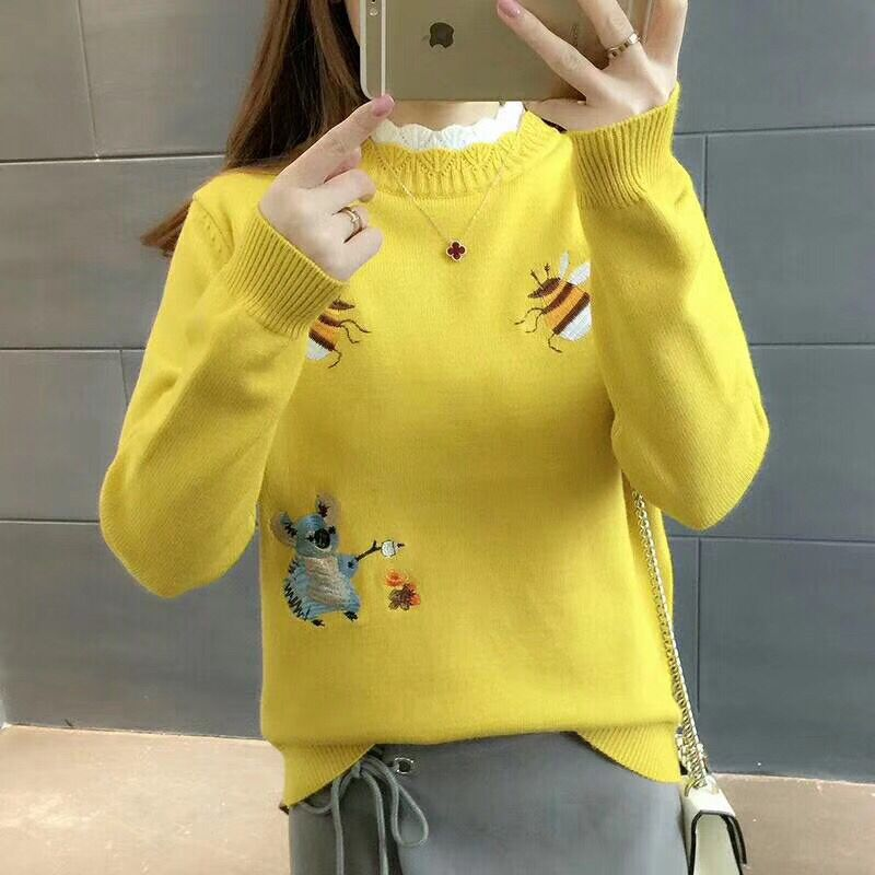 """Thickly Knitted"" Bee Sweater"