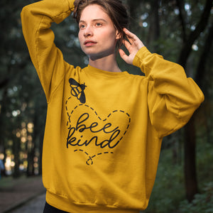 """Bee Kind"" Crewneck"