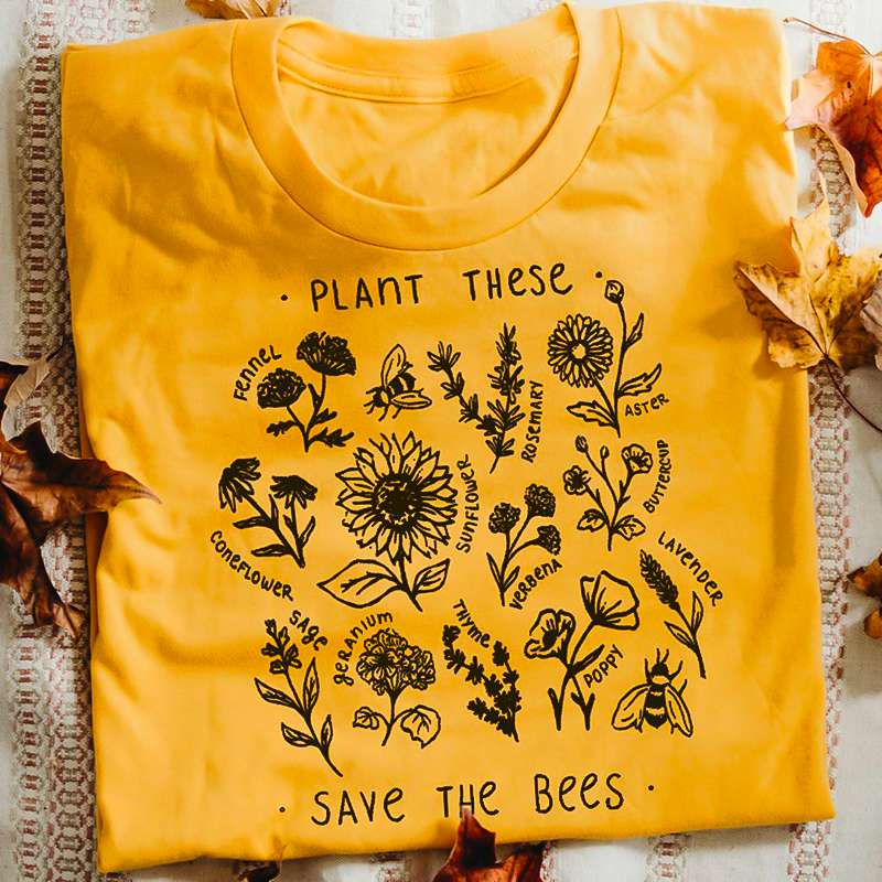 """Plant These"" Graphic Tee"