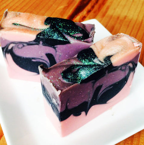 PURPLE SUNSET Handmade Artisan Soap