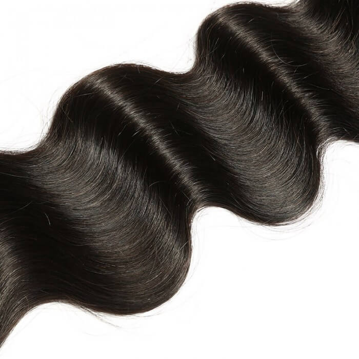 1 Bundle Body Wave Remy Human Hair Weaves