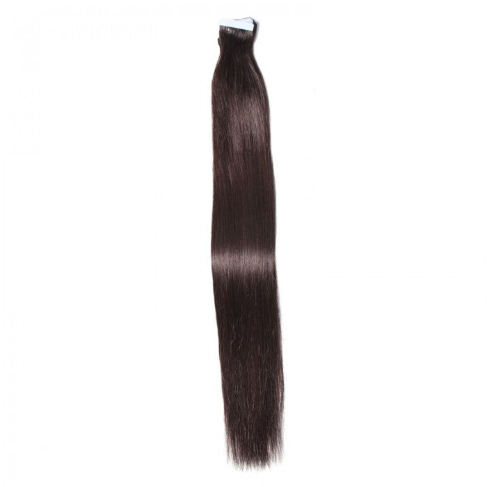 Straight Tape In Hair Extensions Natural Black