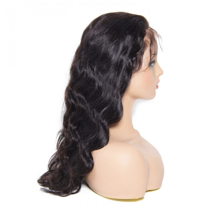 Body Wave Human Hair 360 Lace Wigs