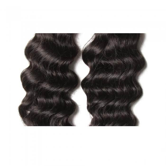 4 Bundles Natural Wave Remy Human Hair Weaves