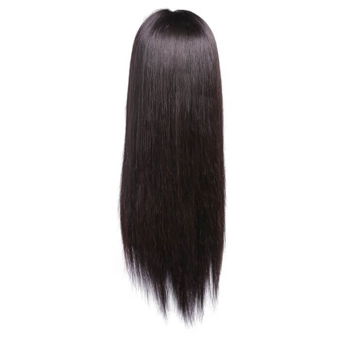 Straight Human Hair Front Lace Wigs