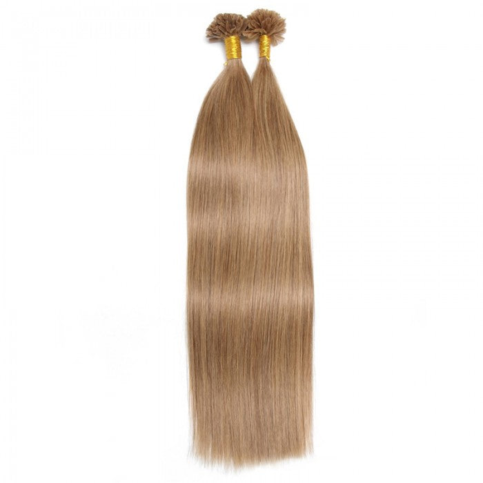 1g/s Color Straight Nail/U Tip Virgin Hair Extensions