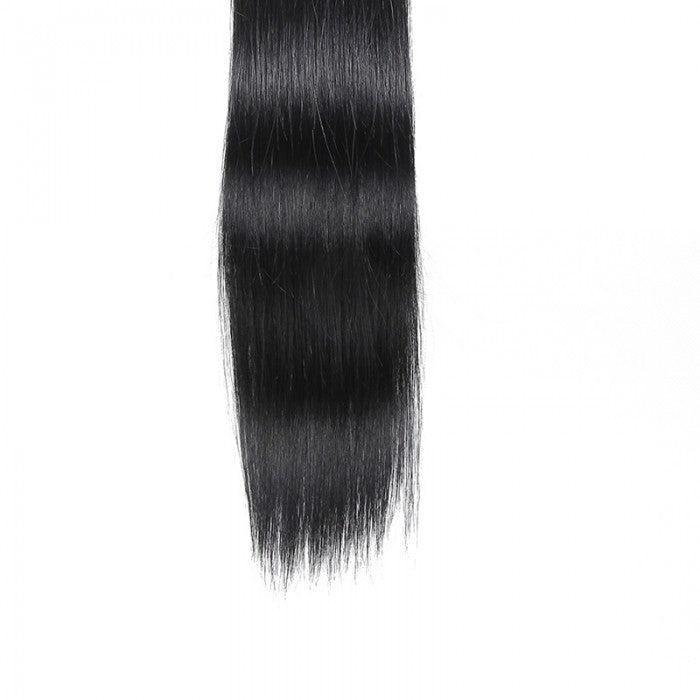 Straight Tape In Hair Extensions Jet Black