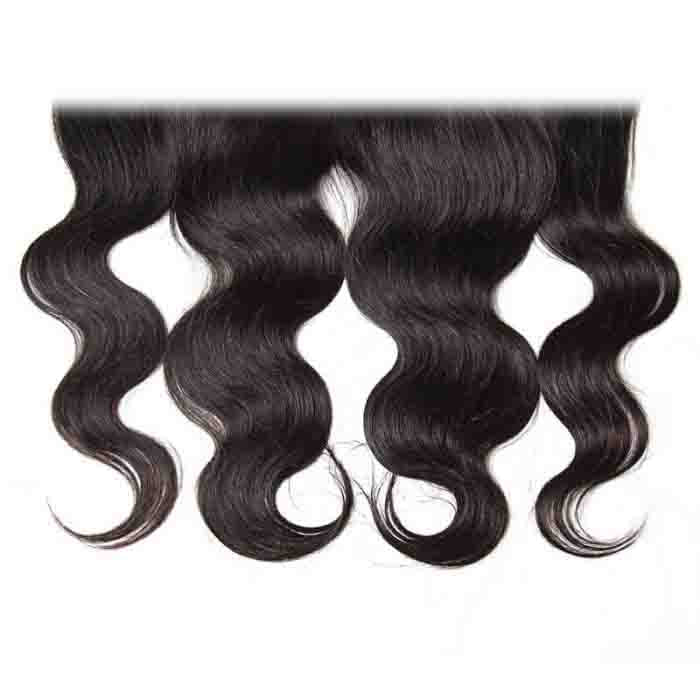 Body Wave Remy Human Hair 13X4 Lace Frontal