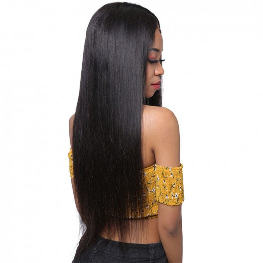 Straight Human Hair Full Lace Wigs