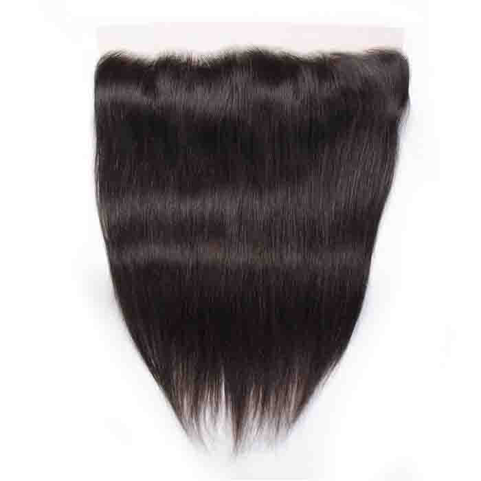 Straight Remy Human Hair 13X4 Lace Frontal