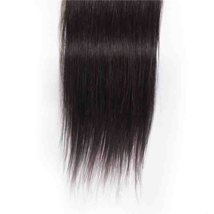 Straight Remy Human Hair 4X4 Lace Closure