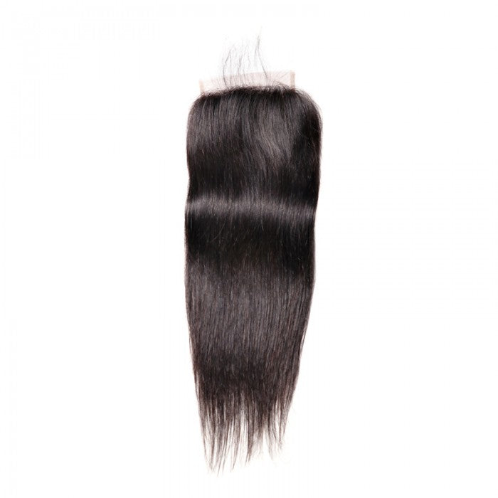 Straight Remy Human Hair 5X5 Lace Closure