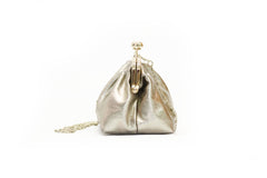 Metallics - Butterfly Clutch- Bronze Gold