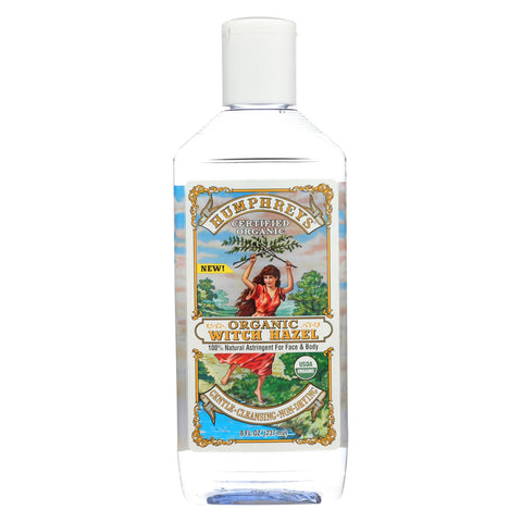 Image of Humphrey's Homeopathic Remedy Organic Witch Hazel - 8 Fl Oz