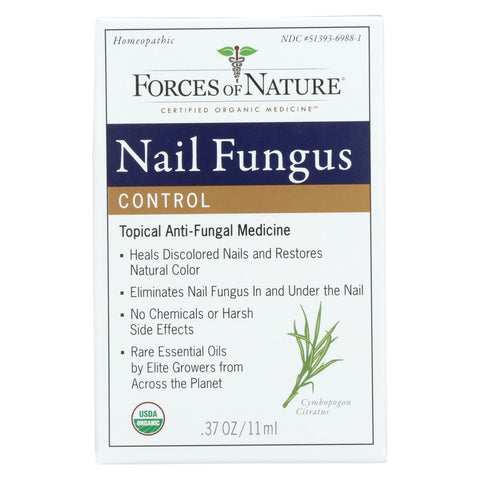 Image of Forces Of Nature Organic Nail Fungus Control - 11 Ml