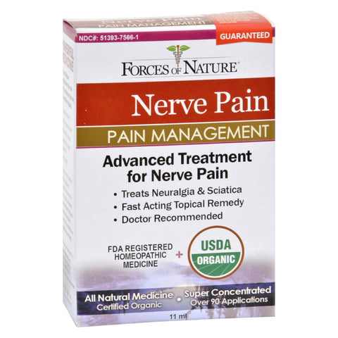 Image of Forces Of Nature Organic Nerve Pain Management - 11 Ml