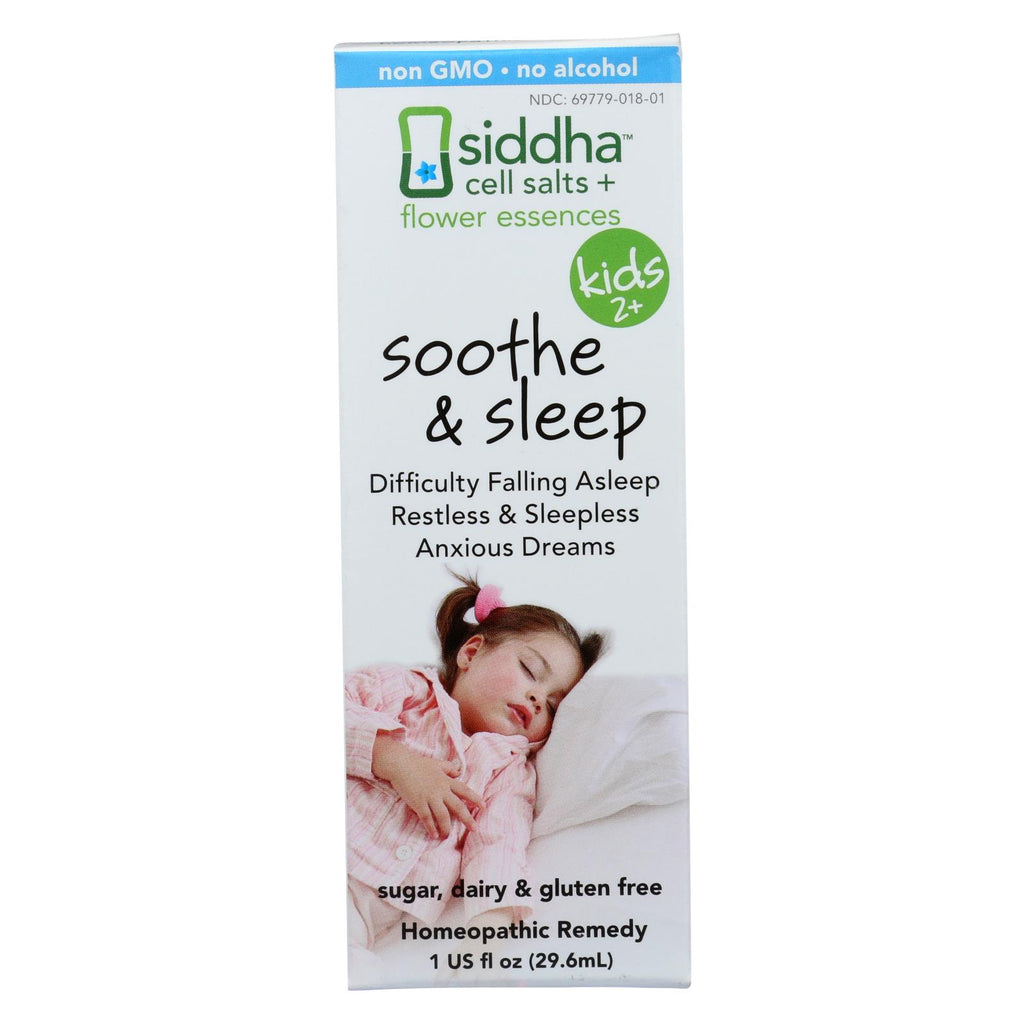 Siddha Flower Essences Soothe And Sleep - Kids - Age Two Plus - 1 Fl Oz
