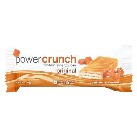 Power Crunch Bar - Original - Salted Caramel - 1.4 Oz - Case Of 12