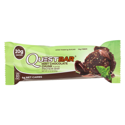 Image of Quest Bar - Mint Chocolate Chunk - 2.12 Oz - Case Of 12