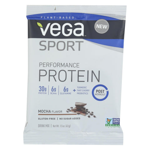 Vega - Protein Mix - Mocha - Case Of 12 - 1.5 Oz.