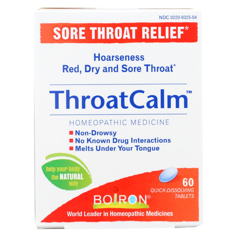 Image of Boiron Throatcalm - 60 Tab
