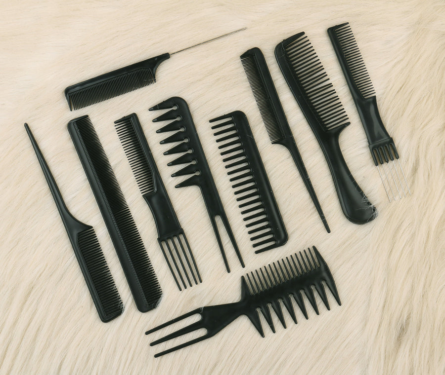 10pcs Hair Comb Set