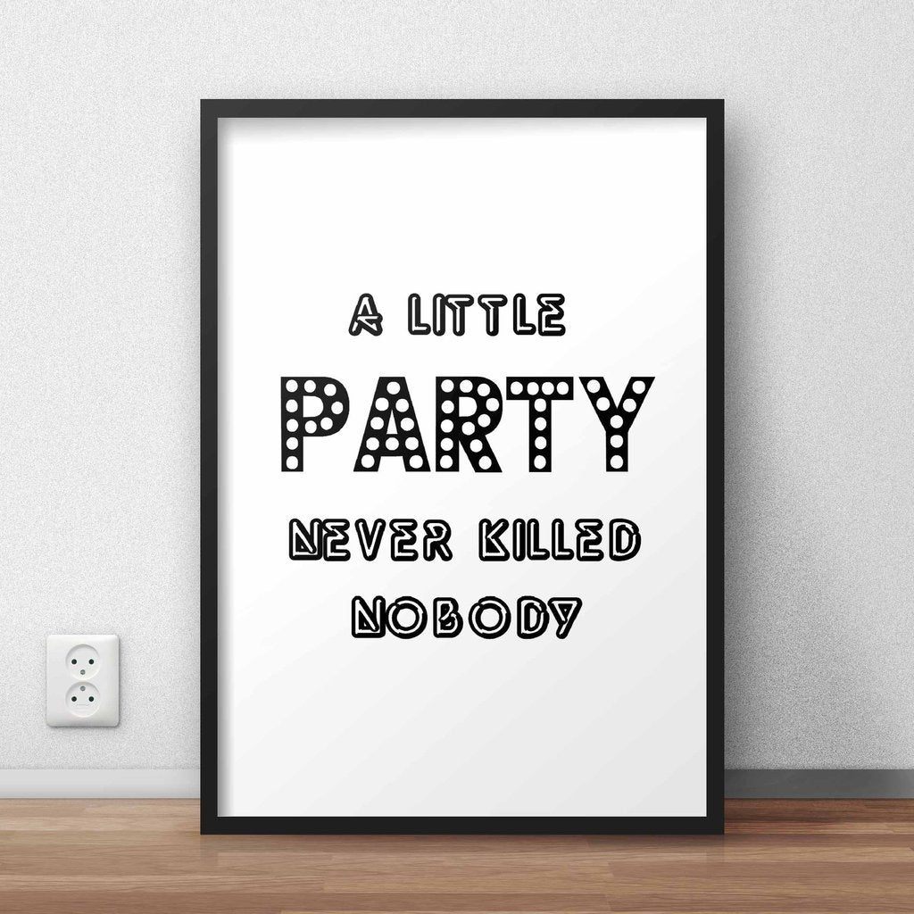 Party Wall Art Frame
