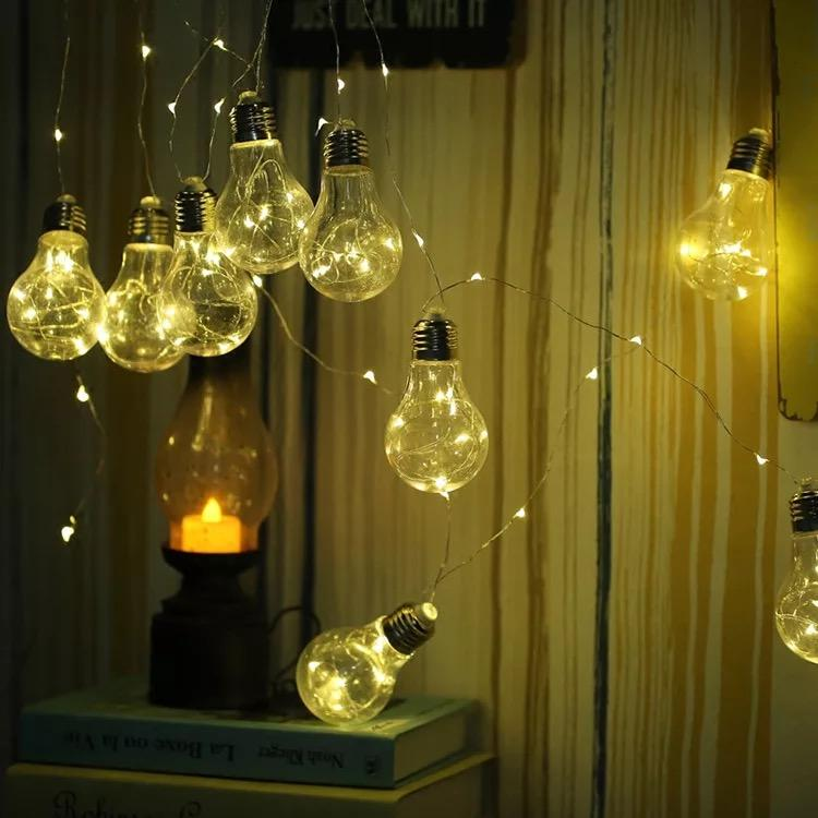 Bulb Fairy Light Home Decorative