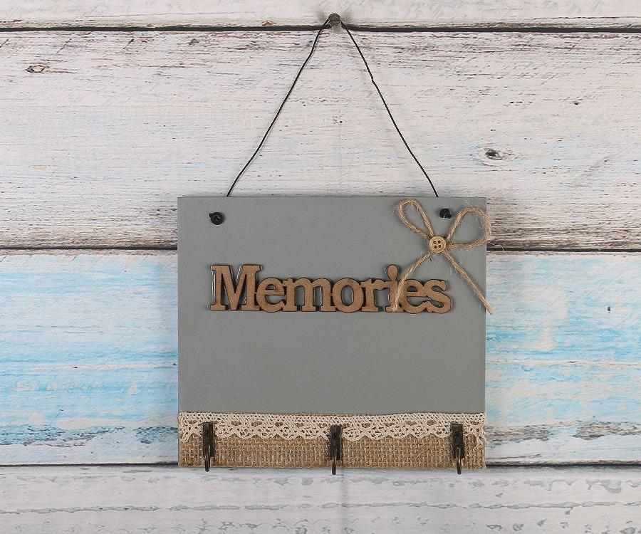 Wooden Memories Wall Hanging Board Plate Home Decorative