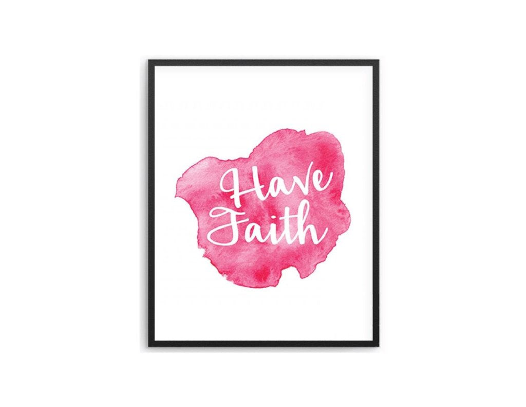 Have Faith Wall Art Frame