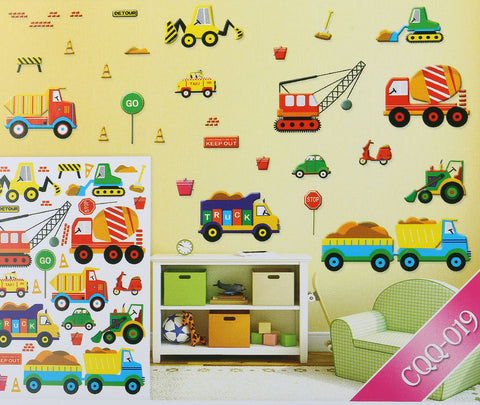 CONSTRUCTION WALL STICKER