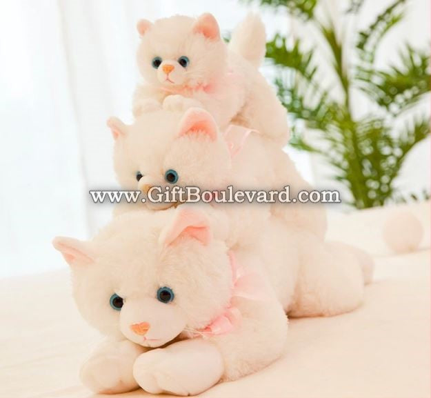 Kawaii Plush Cat Toys Staffed Cute Cat Dolls Kids